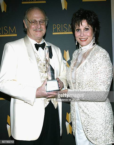 Actor Gerald McRaney and actress Michele Lee attend the Ninth Annual Prism Awards at the Beverly Hills Hotel on April 28 2005 in Beverly Hills...