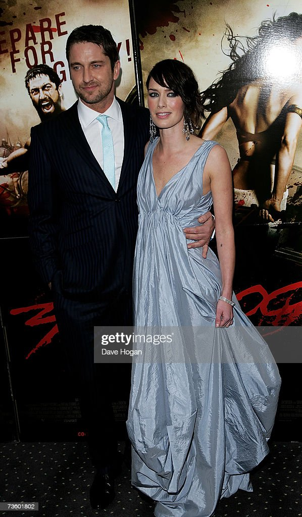 Actor Gerard Butler And Lena Headey Arrive At The Uk Premiere Of News Photo Getty Images