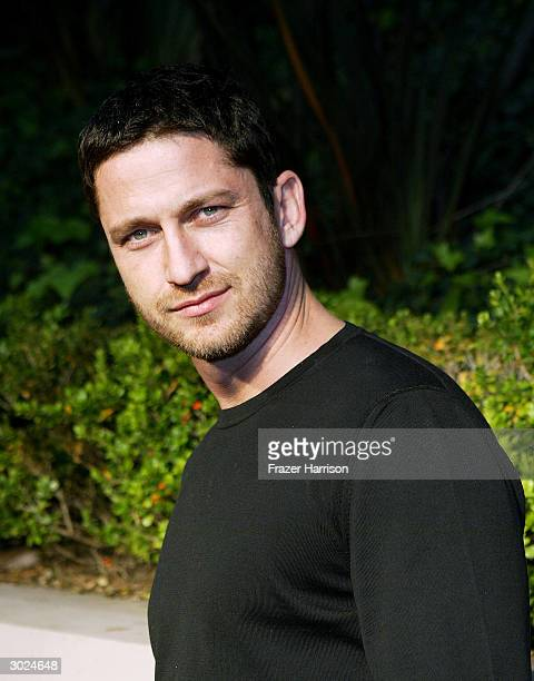 Actor Gerard Butler arrives at Miramax's Annual Max Awards PreOscar party held at the Regis Hotel on February 28 2004 in Beverly Hills California