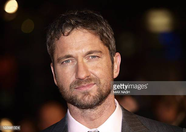Actor Gerard Butler arrives for the Gala Premiere of his latest film, 'The Bounty Hunter ' in London's Leicester Square, on March 11, 2010. Directed...