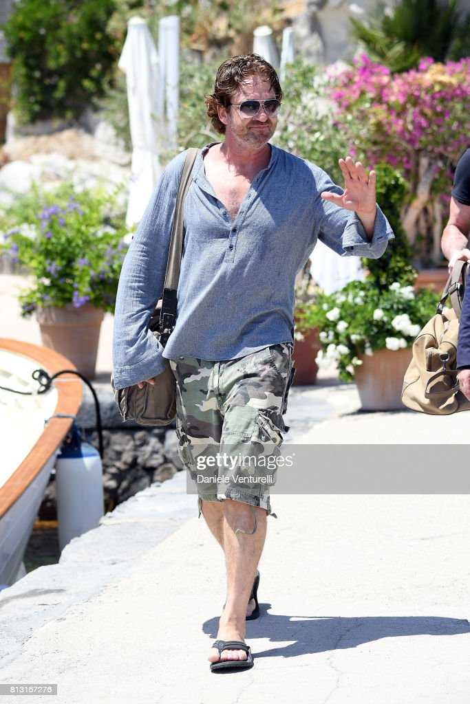 Actor Gerard Butler attends 2017 Ischia Global Film & Music Fest on July 12, 2017 in Ischia, Italy.