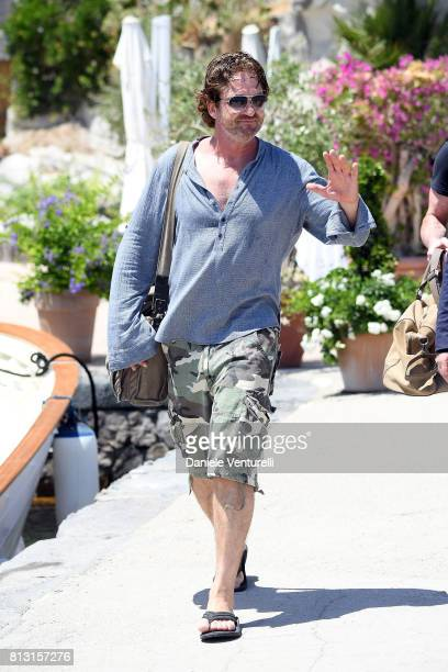 Actor Gerard Butler attends 2017 Ischia Global Film Music Fest on July 12 2017 in Ischia Italy