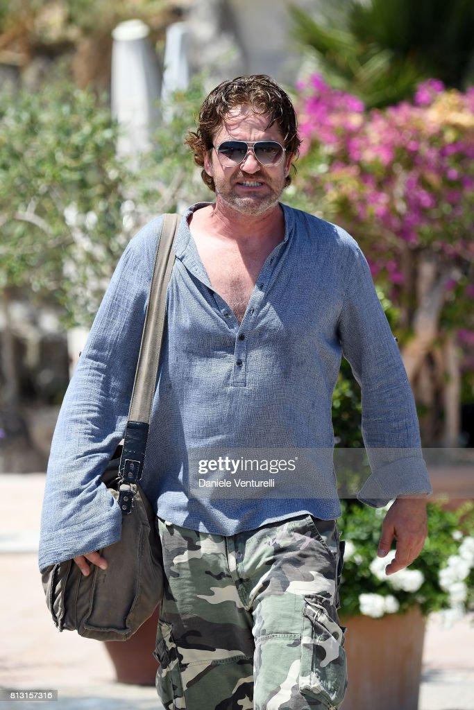 Actor Gerard Butler attends 2017 Ischia Global Film & Music Fest on July 12, 2017 in Ischia, Italy.