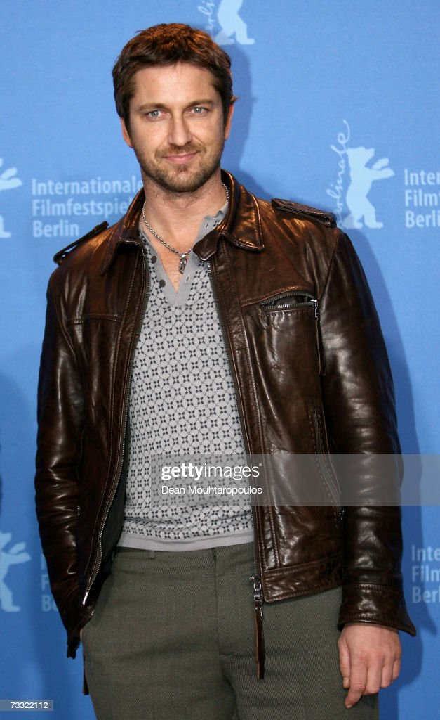 Actor Gerard Butler attends a photocall to promote the movie '300' during the 57th Berlin International Film Festival (Berlinale) on February 14, 2007 in Berlin, Germany.