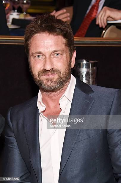 Actor Gerard Butler attends Friends Of The Israel Defense Forces Western Region Gala at The Beverly Hilton Hotel on November 3 2016 in Beverly Hills...