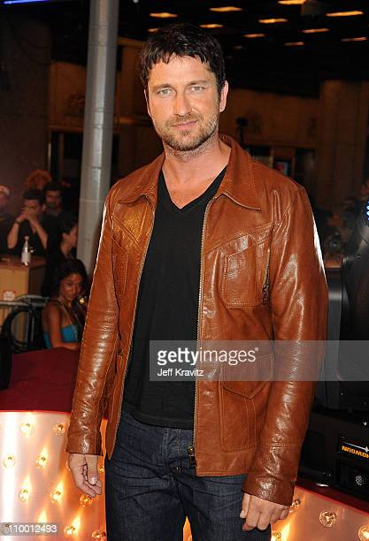 Actor Gerard Butler attends the 2009 MTV Video Music Awards at Radio City Music Hall on September 13 2009 in New York City