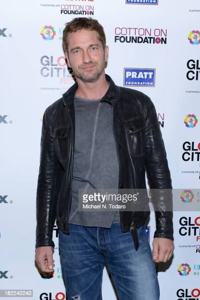 Actor Gerard Butler attends the 2013 Global Citizen Festival to end extreme poverty in Central Park on September 28 2013 in New York City New York