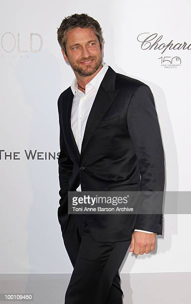Actor Gerard Butler attends the amfAR Cinema Against AIDS 2010 at the Hotel du Cap during the 63rd Annual Cannes Film Festival on May 20 2010 in...