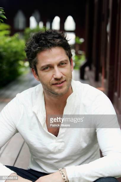 Actor Gerard Butler attends the Bangkok International Film Festival at the ShangriLa Hotel January 22 2005 in Bangkok Thailand
