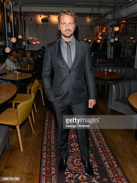 Actor Gerard Butler attends 'The Headhunter's Calling' TIFF Party hosted by Ciroc during the 2015 Toronto International Film Festival at Byblos on...