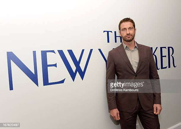 Actor Gerard Butler attends The New Yorker's David Remnick Hosts White House Correspondents' Dinner Weekend PreParty at W Hotel Rooftop on April 26...