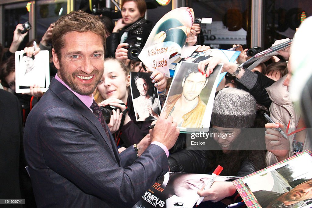 Olympus Has Fallen - Moscow Premiere : News Photo