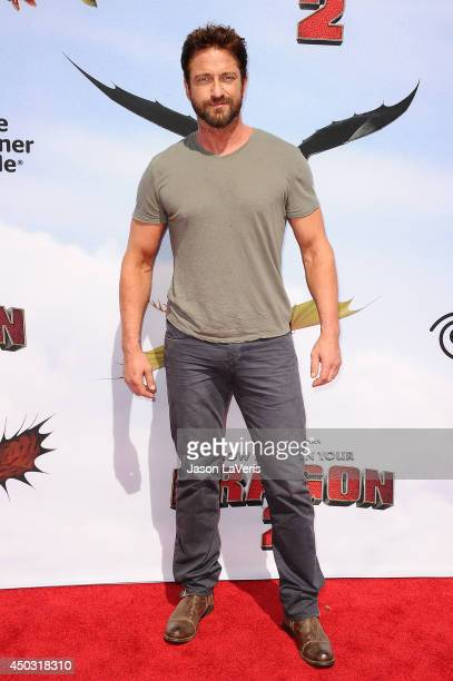 Actor Gerard Butler attends the premiere of 'How To Train Your Dragon 2' at Regency Village Theatre on June 8 2014 in Westwood California