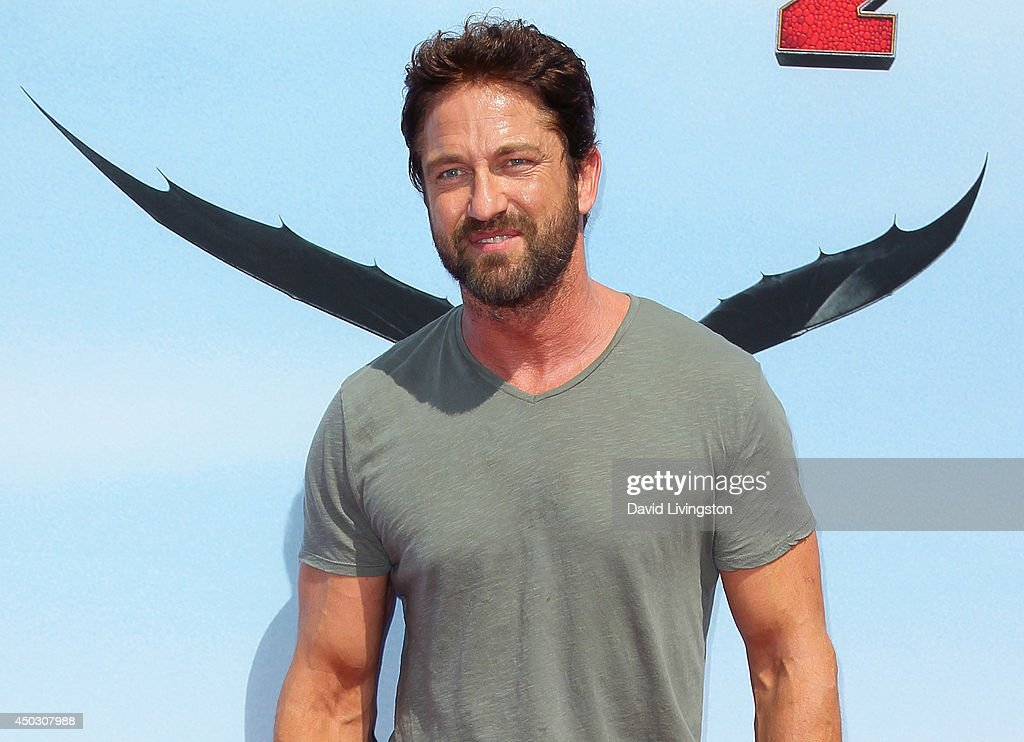 Actor Gerard Butler attends the premiere of Twentieth Century Fox and DreamWorks Animation 'How to Train Your Dragon 2' at the Regency Village Theatre on June 8, 2014 in Westwood, California.