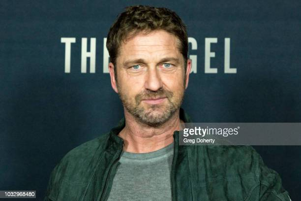 Actor Gerard Butler attends the Screening Of Netflix's The Angel at TCL Chinese 6 Theatres on September 13 2018 in Hollywood California