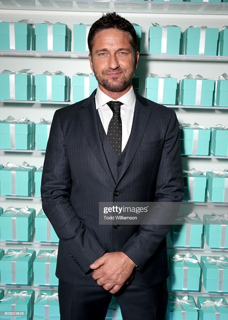 Actor Gerard Butler attends the Vanity Fair and Tiffany & Co. private dinner toasting Lupita Nyong'o and celebrating Legendary Style at Shangri-La Hotel on September 11, 2016 in Toronto, Canada.
