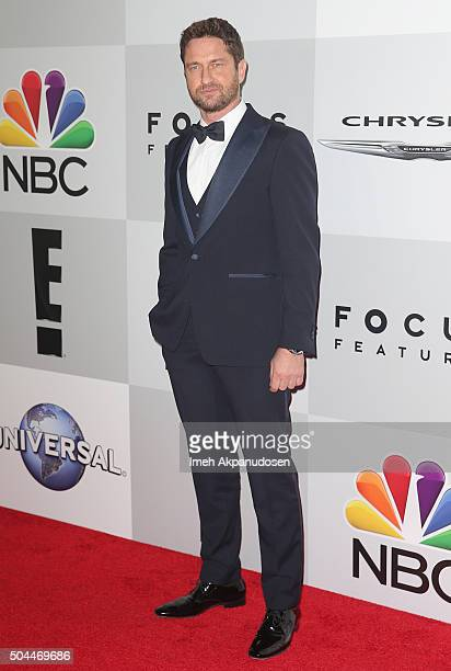 Actor Gerard Butler attends Universal NBC Focus Features and E Entertainment Golden Globe Awards After Party sponsored by Chrysler at The Beverly...