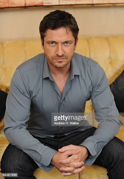 Actor Gerard Butler during a portrait session on day seven of the 6th Annual Dubai International Film Festival held at the Madinat Jumeriah Complex...