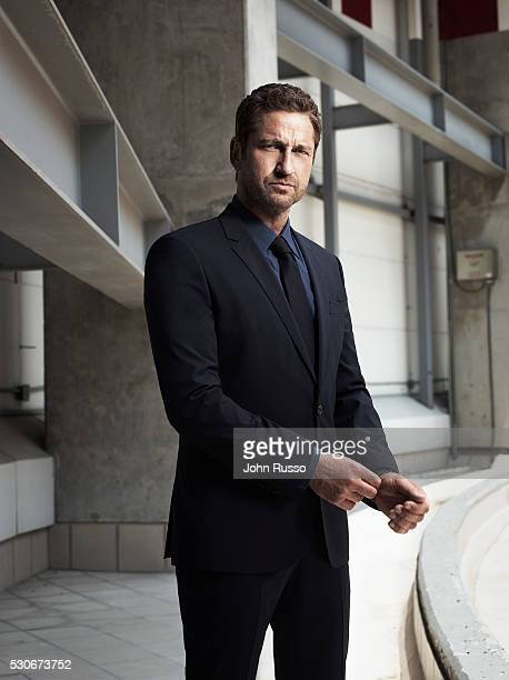 Actor Gerard Butler is photographed for Esquire Magazine on July 1 2015 in Mexico City Mexico