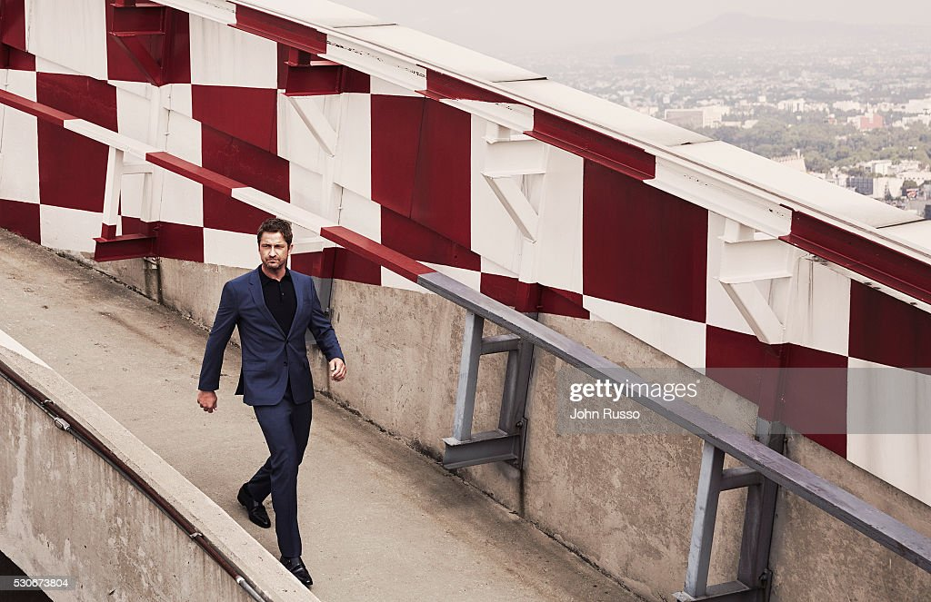Actor Gerard Butler is photographed for Esquire Magazine on July 1, 2015 in Mexico City, Mexico.