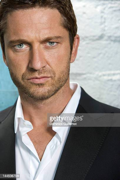 Actor Gerard Butler is photographed for Signature LA Magazine on May 28 2009 in Los Angeles California