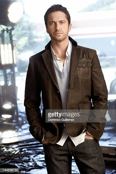 Actor Gerard Butler is photographed for Signature LA Magazine on May 28 2009 in Los Angeles California PUBLISHED IMAGE