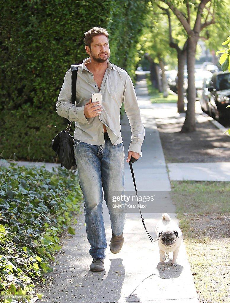 Celebrity Sightings in Los Angeles - July 23, 2015 : News Photo