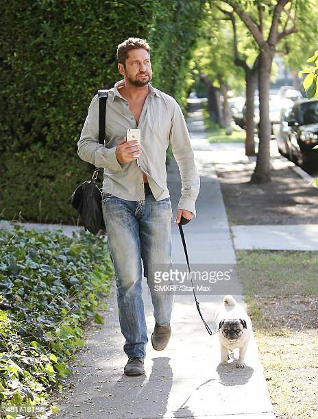 Actor Gerard Butler is seen on July 23 2015 in Los Angeles California