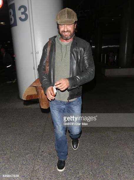 Actor Gerard Butler is seen on September 19 2017 in Los Angeles California
