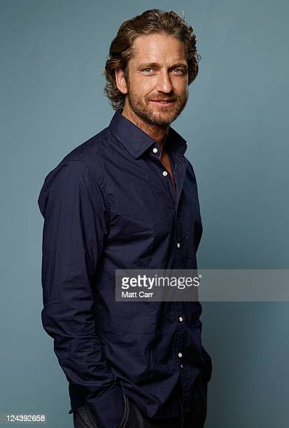 Actor Gerard Butler of Machine Gun Preacher poses for a portrait during 2011 Toronto Film Festival on September 9 2011 in Toronto Canada