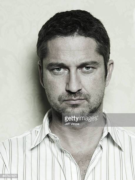 Actor Gerard Butler poses at a portrait session at the Toronto International Film Festival on September 4 2008