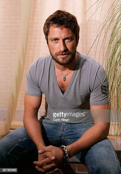 Actor Gerard Butler poses for a portrait while promoting the film Beowulf Grendel at the Toronto International Film Festival September 15 2005 in...