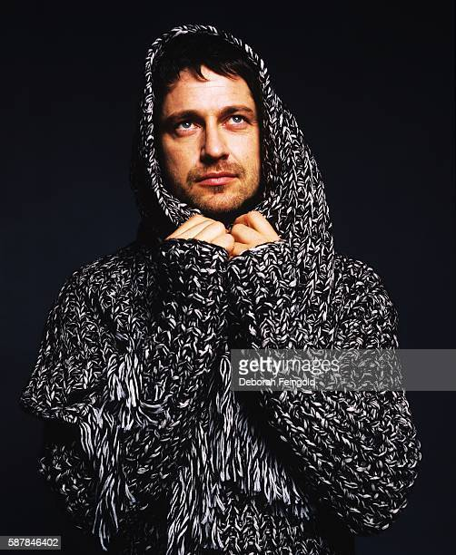 Actor Gerard Butler posing for DNR magazine on November 19 2004 in New York City New York