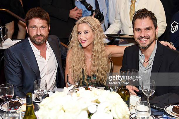 Actor Gerard Butler Traci Szymanski and director Ariel Vromen attend Friends Of The Israel Defense Forces Western Region Gala at The Beverly Hilton...