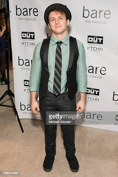 Actor Gerard Canonico attends BARE The Musical Opening Night After Party at Out Hotel on December 9 2012 in New York City