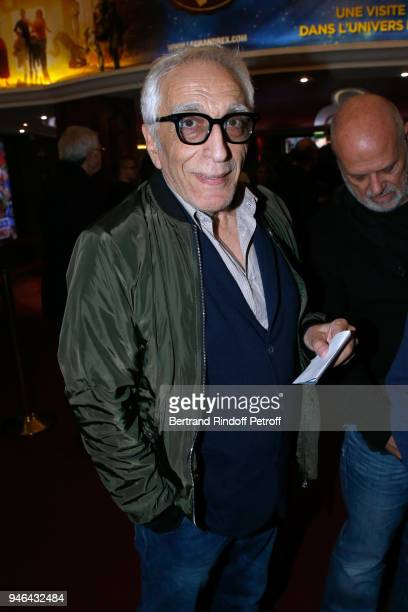 Actor Gerard Darmon attends Sylvie Vartan performs at Le Grand Rex on April 14 2018 in Paris France