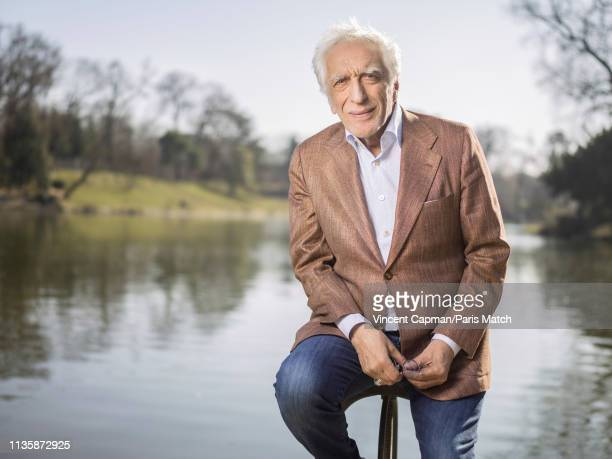 Actor Gerard Darmon is photographed for Paris Match on February 27 2019 in Paris France