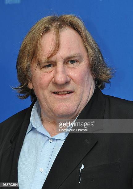 Actor Gerard Depardieu attends the 'Mammuth' Photocall during day nine of the 60th Berlin International Film Festival at the Grand Hyatt Hotel on...