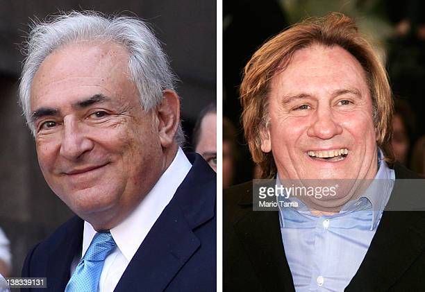 In this composite image a comparison has been made between Dominique StraussKahn and actor Gerard Depardieu According to reports in February 2012...