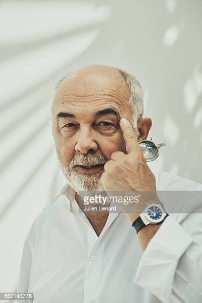Actor Gerard Jugnot is photographed for Self Assignment on May 16 2016 in Cannes France