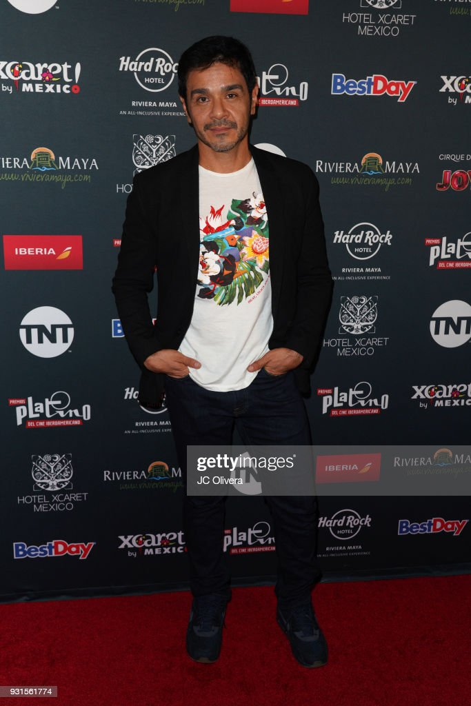 Actor Gerardo De Pablos attends the 5th Annual Premios PLATINO Of Iberoamerican Cinema Nominations Announcement at Hollywood Roosevelt Hotel on March 13, 2018 in Hollywood, California.
