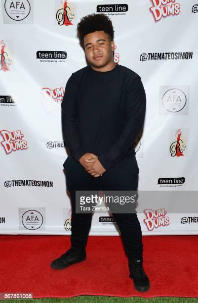 Actor Gerdan Burton attends Mateo Simon's Halloween Charity Event on October 28 2017 in Burbank California