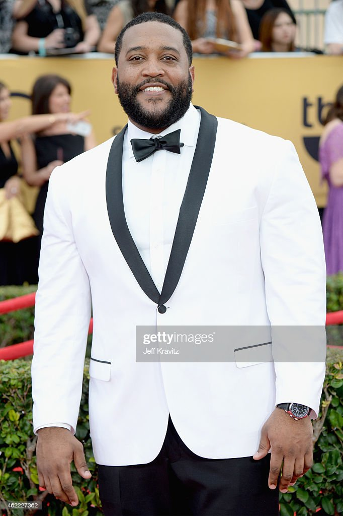 Actor Germar Terrell Gardner attends the 21st Annual Screen Actors Guild Awards at The Shrine Auditorium on January 25, 2015 in Los Angeles, California.