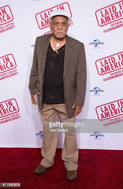 Actor Gerry Bednob attends the premiere of 'Laid In America' at AMC Universal City Walk on September 28 2016 in Universal City California
