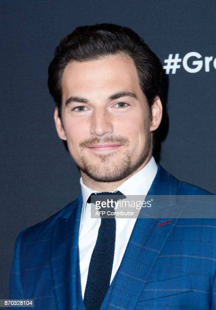 Actor Giacomo Gianniotti attends the 300th 'Grey's Anatomy' Episode Celebration on November 4 in Hollywood California / AFP PHOTO / VALERIE MACON