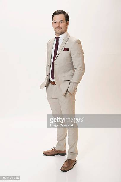 Actor Giacomo Gianniotti poses for a portraits at the Beverly Hills Ballroom of The Beverly Hilton in Beverly Hills at Disney | ABC Television...