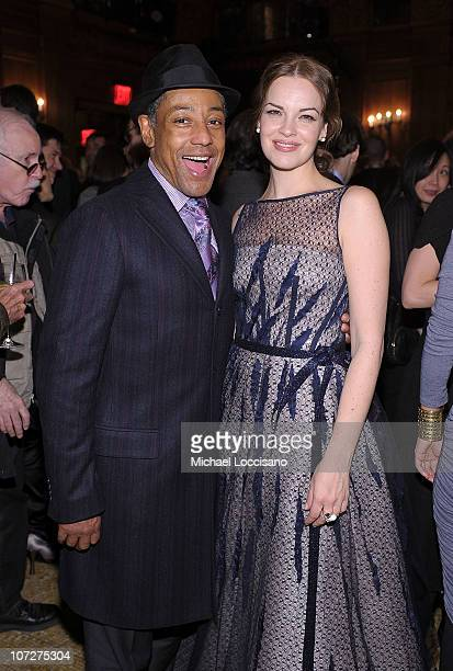 Actor Giancarlo Esposito and Actress Tammy Blanchard attend the premiere after party for Rabbit Hole at The Oak Room on December 2 2010 in New York...