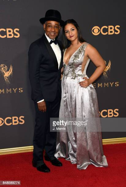 Actor Giancarlo Esposito and Joy McManigal attend the 69th Annual Primetime Emmy Awards at Microsoft Theater on September 17 2017 in Los Angeles...