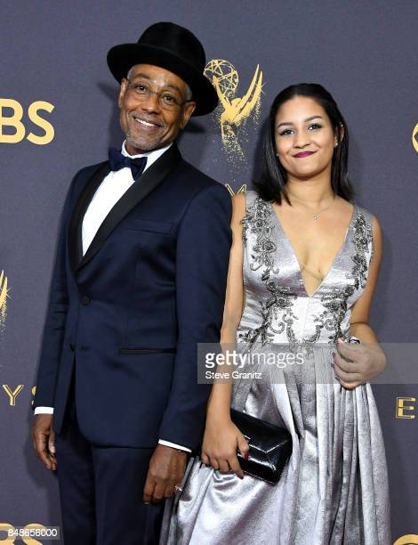 Actor Giancarlo Esposito and Syr Esposito attend the 69th Annual Primetime Emmy Awards at Microsoft Theater on September 17 2017 in Los Angeles...