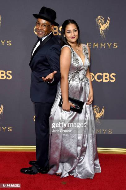 Actor Giancarlo Esposito and Syr Esposito attend the 69th Annual Primetime Emmy Awards at Microsoft Theater on September 17, 2017 in Los Angeles,...